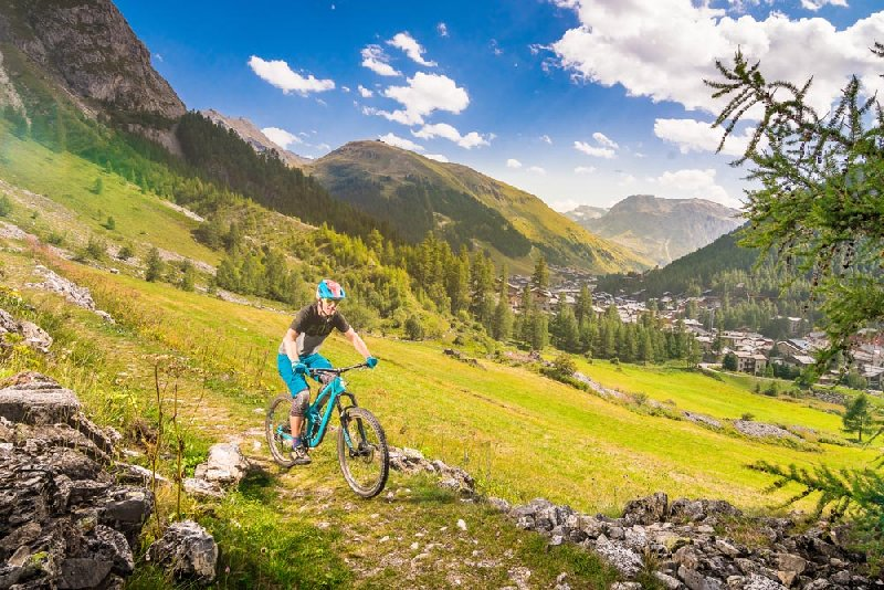 Val d'Isere - Evenement Introduction to MTB trial biking