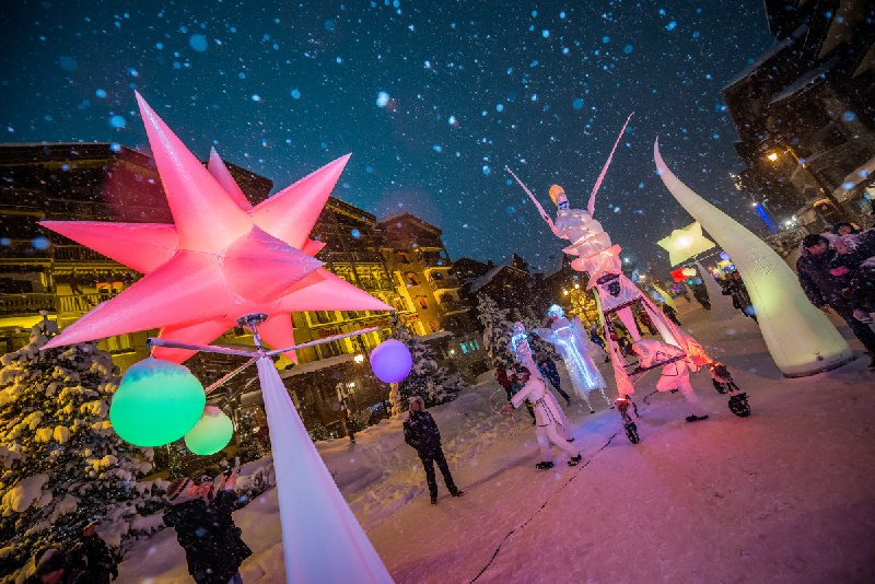 Val d'Isere - Evenement Airstar Night Light