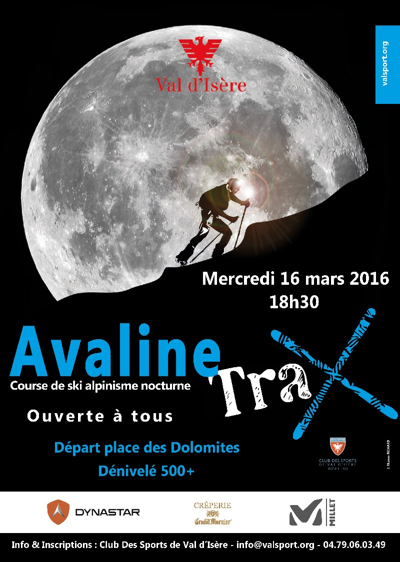 Val d'Isere - Evenement Ski moutaineering night race