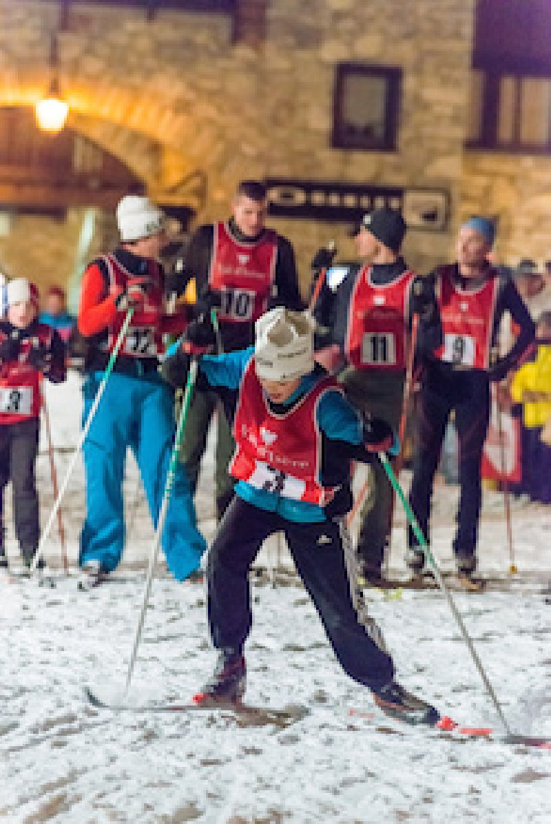 Val d'Isere - Evenement Cross country ski race