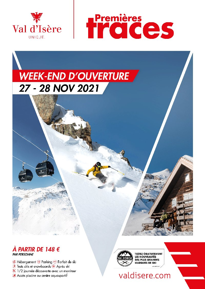 Val d'Isere - Evenement First Tracks - Resort opening weekend