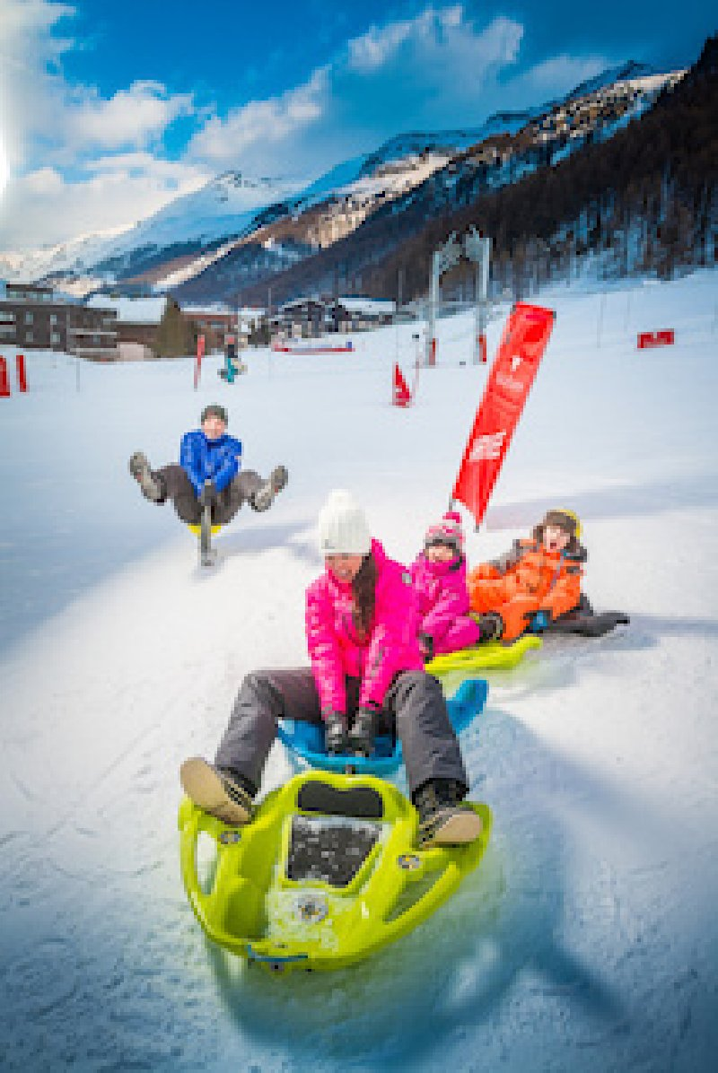 Val d'Isere - Evenement Snake Gliss
