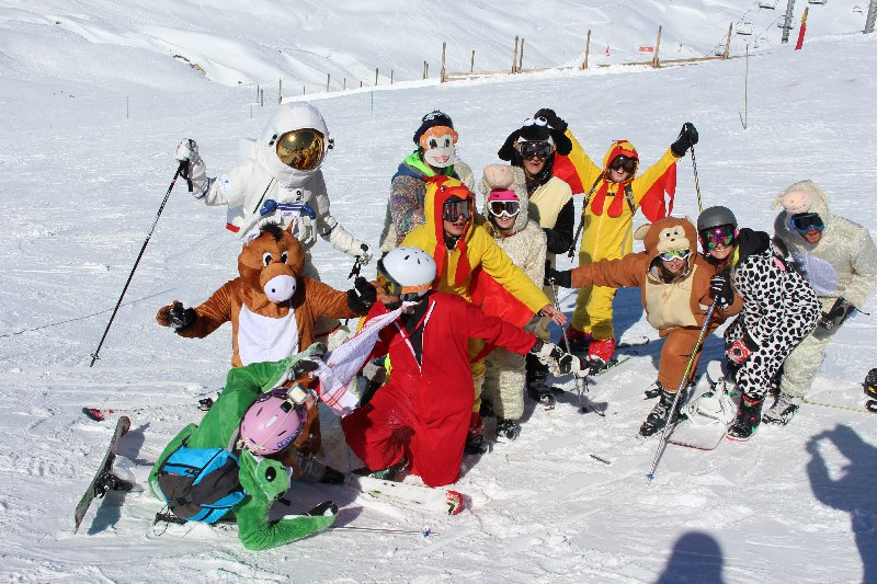 Val d'Isere - Evenement Carnival on the slopes