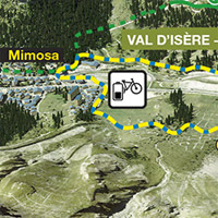 Bike Park Val dIsre Sporting activities in Savoie Val dIsre