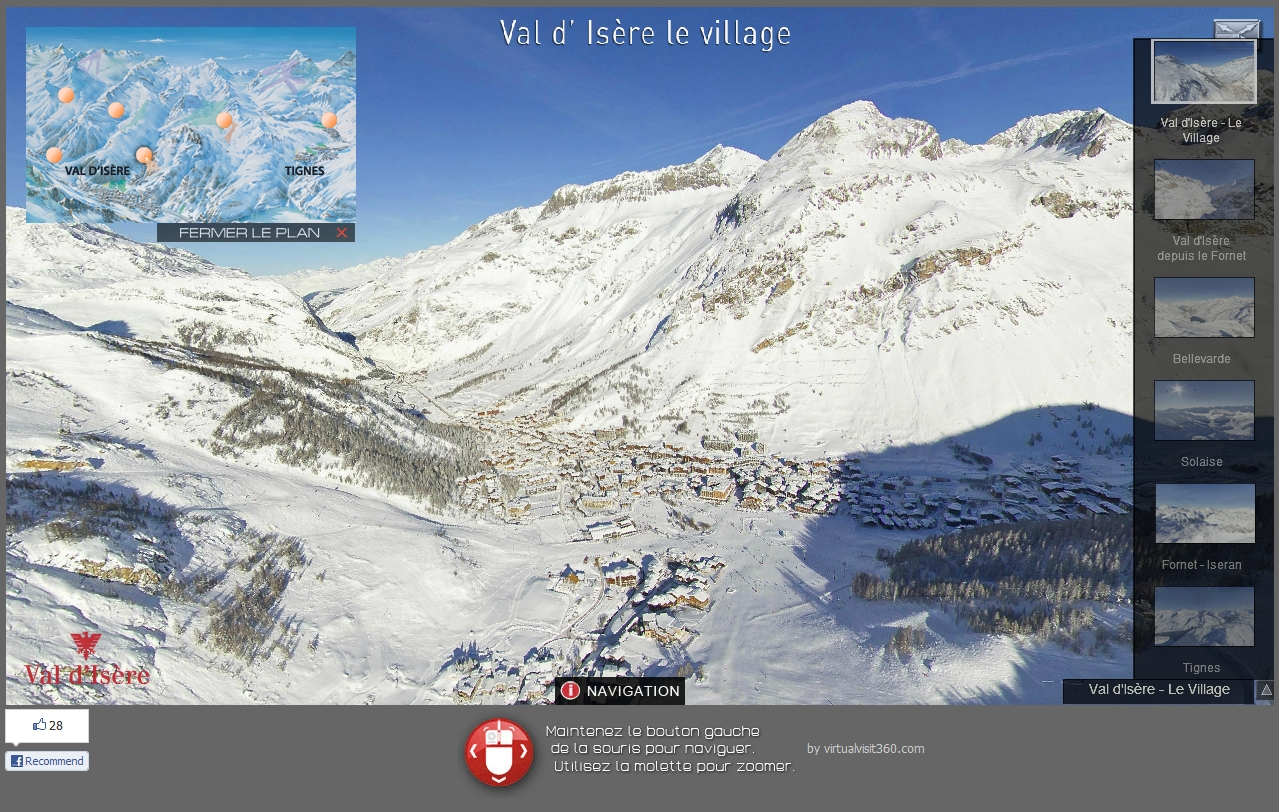 Val d 39 is re vu du ciel comme si vous y tiez val d 39 is re - Office du tourisme val d isere telephone ...