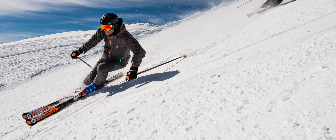 Ski resort in the French Alps Skiing in the French Alps Val dIsre