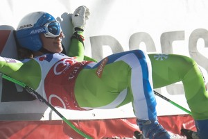 Women's downhill in Val d'Isère: Stuhec in a class of her own