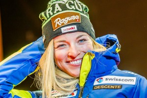 Women's Super-G in Val d'Isère: Gut strikes back