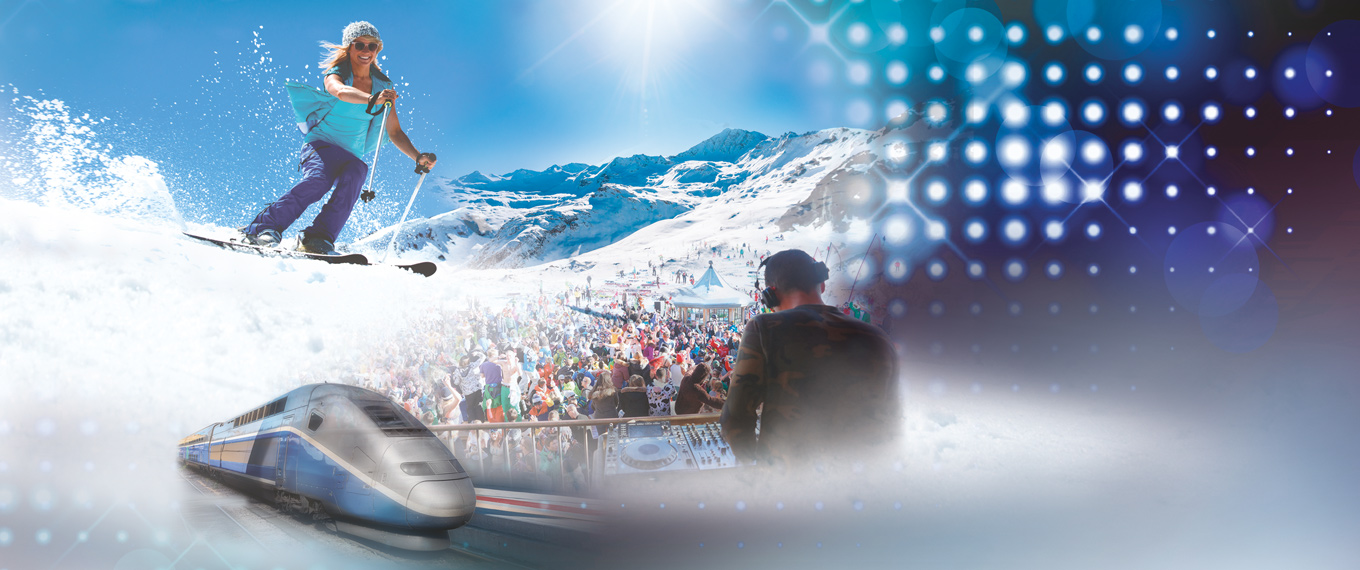 Val d'Isère Snow Express – Closing Week-end from PARIS – Apartment Package