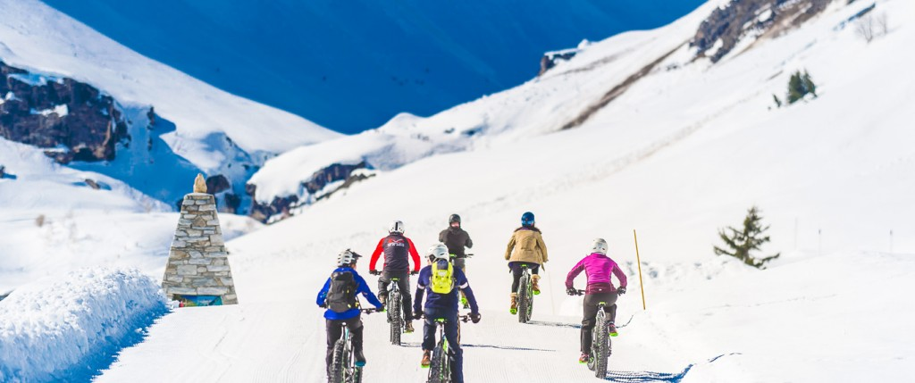 fat bike val d'isere