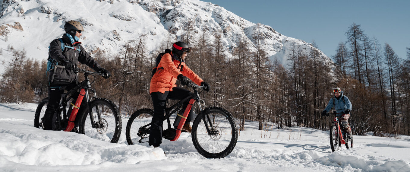 view of val d'isere from VTT VAE